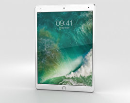 Apple iPad Pro 10.5-inch (2017) Cellular Silver 3D model