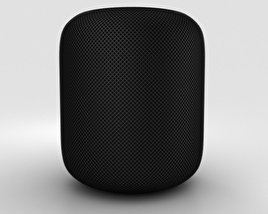 3D model of Apple HomePod Black