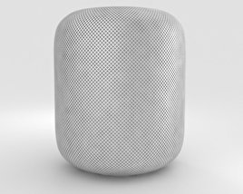 3D model of Apple HomePod White