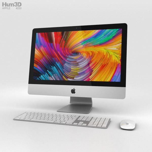 Apple iMac 21.5-inch (2017) Retina 4K 3D model