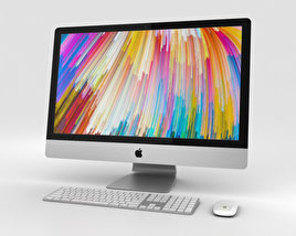 3D model of Apple iMac 27-inch (2017)