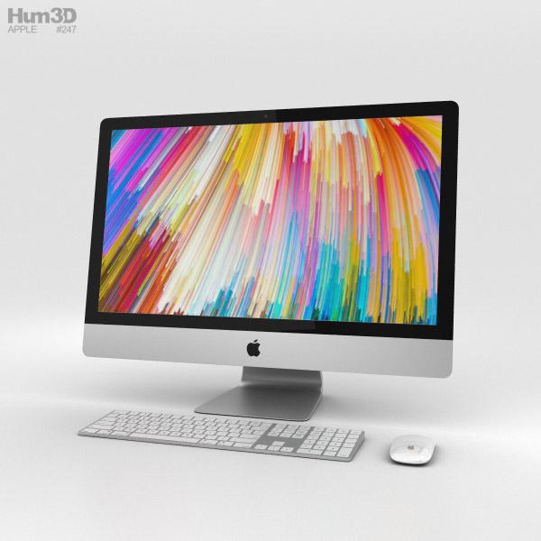 Apple iMac 27-inch (2017) 3D model