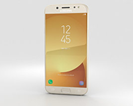3D model of Samsung Galaxy J5 (2017) Gold