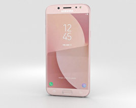 3D model of Samsung Galaxy J5 (2017) Pink