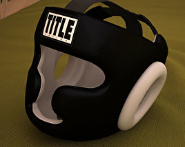 3D model of Training Headgear