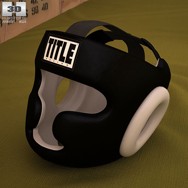 Training Headgear 3D model