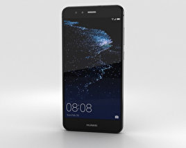 3D model of Huawei P10 Lite Graphite Black