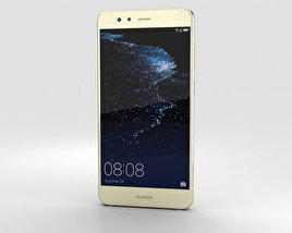 3D model of Huawei P10 Lite Platinum Gold