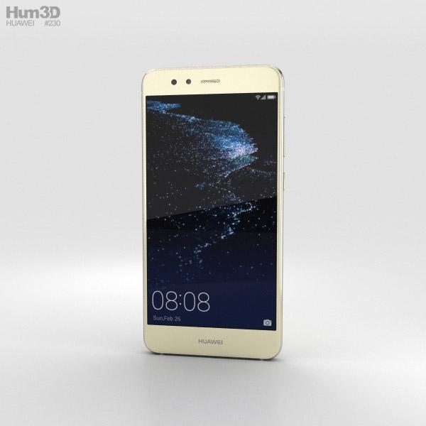 Huawei P10 Lite Platinum Gold 3D model