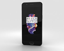 3D model of OnePlus 5 Midnight Black