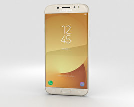 3D model of Samsung Galaxy J7 (2017) Gold