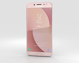 3D model of Samsung Galaxy J7 (2017) Pink