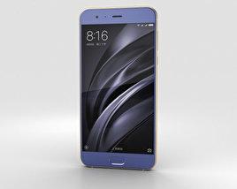 3D model of Xiaomi Mi 6 Blue