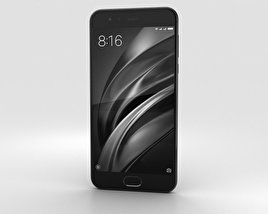 3D model of Xiaomi Mi 6 Ceramic Black