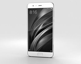 3D model of Xiaomi Mi 6 White
