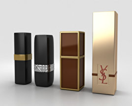 3D model of Lipsticks