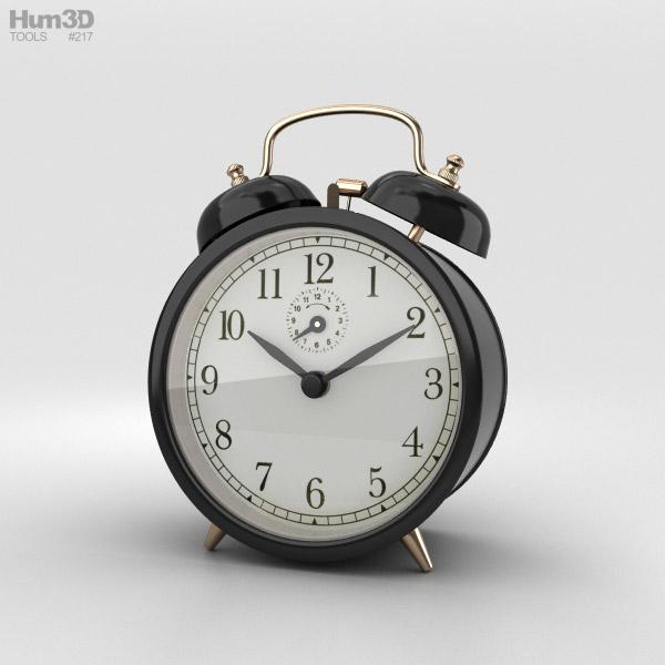 3D model of Alarm Clock