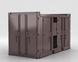 Compressore diesel Modello 3D