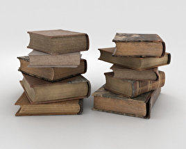 3D model of Old Books