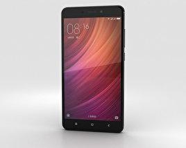 Xiaomi Redmi Note 4 Black 3D model