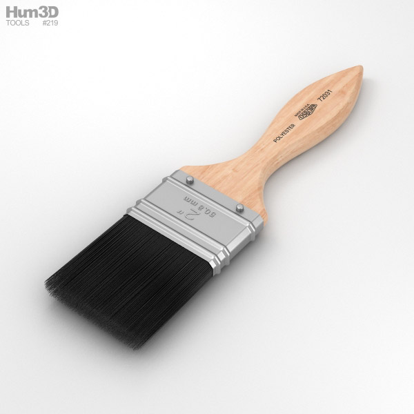 3D model of Paint Brush