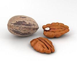 3D model of Pecan Nuts