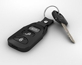 3D model of Car Key