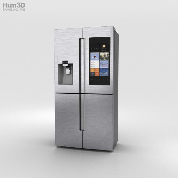 Samsung Smart Hub Fridge 3D model
