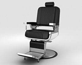3D model of Barber Chair