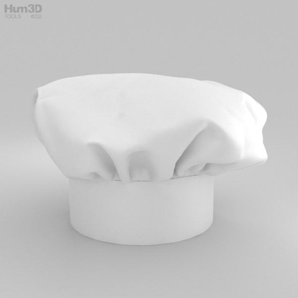 Chef Hat 3D model