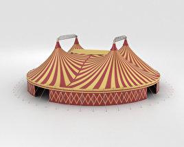 3D model of Circus Tent