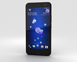 3D model of HTC U11 Brilliant Black