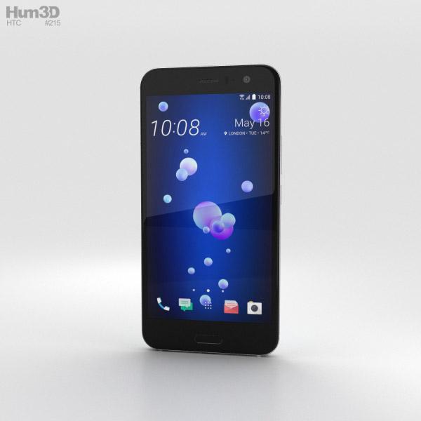 3D model of HTC U11 Ice White