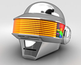 3D model of Daft Punk Thomas Helmet