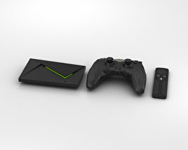 3D model of Nvidia Shield TV