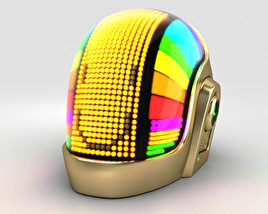 3D model of Daft Punk Volpin Helmet