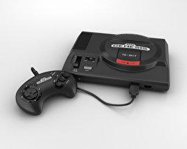 3D model of Sega Genesis