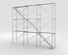 3D model of Scaffolding
