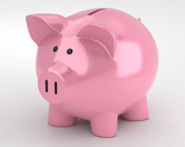 3D model of Piggy Bank