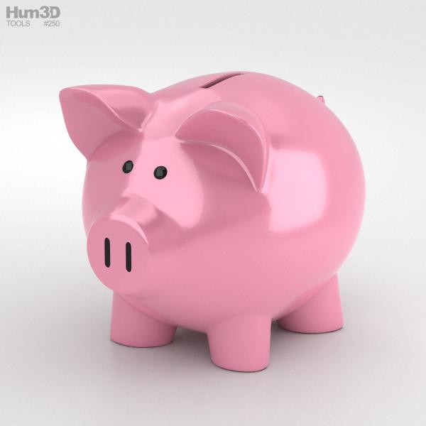 3D model of Piggy Bank