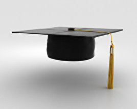 3D model of Graduation Cap