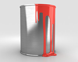 3D model of Paint Can