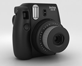 Fujifilm Instax Mini 8 Black 3D model