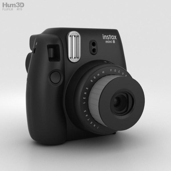 3D model of Fujifilm Instax Mini 8 Black