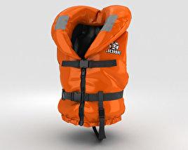 3D model of Life Jacket