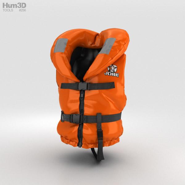 Life Jacket 3D model