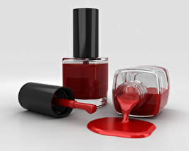 3D model of Spilled Nail Polish