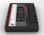 Cassette 3d model