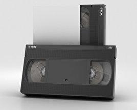 3D model of VHS Cassette