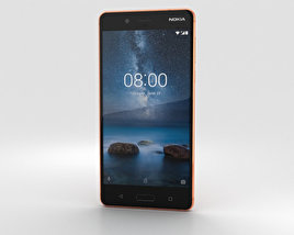 3D model of Nokia 8 Polished Copper
